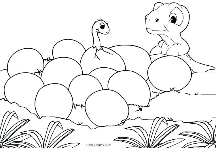 Real Dinosaur Coloring Pages