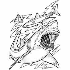 Real Fish Coloring Pages