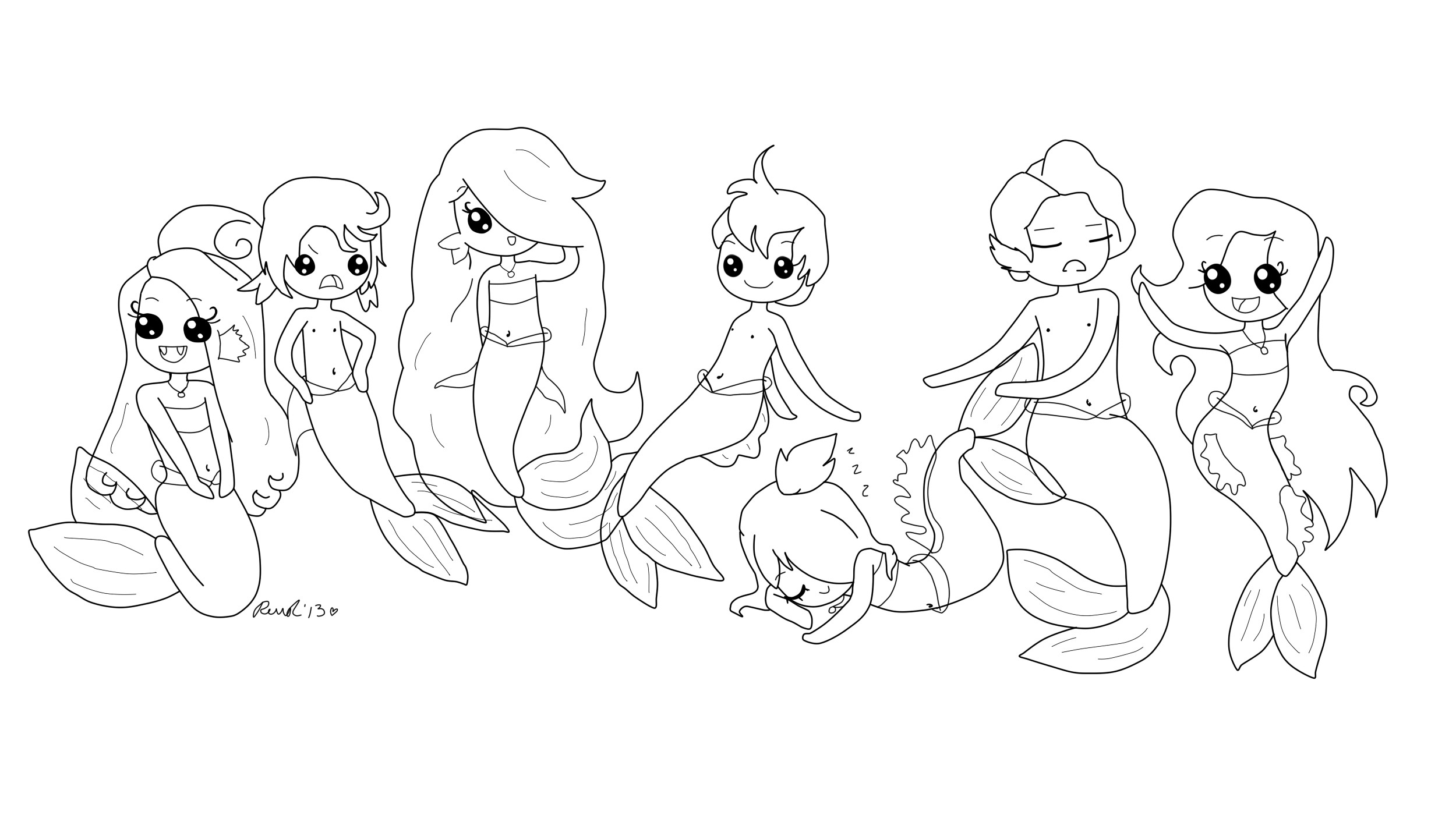 2500x1400 Best Of Frozen Mermaid Coloring Pages
