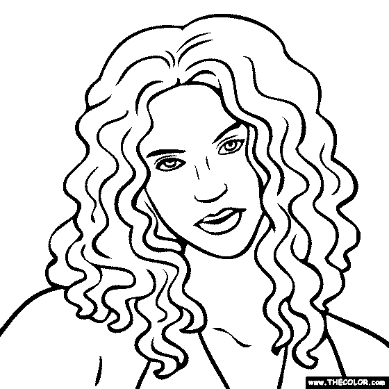 560x560 People Coloring Pages New Famoussingers Free Colouring Pages