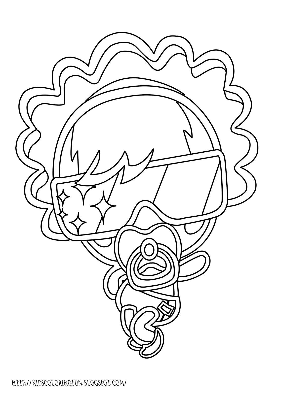 1131x1600 Moshling Monster Coloring Pages Lady Goo Goo Team Colors