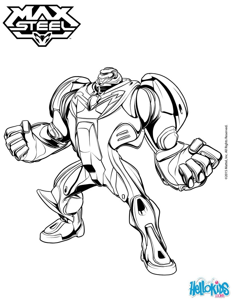 820x1060 Steel Coloring Pages