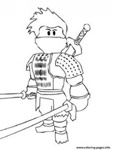 228x303 Printable Roblox Minecraft Enderman Coloring Page For Just