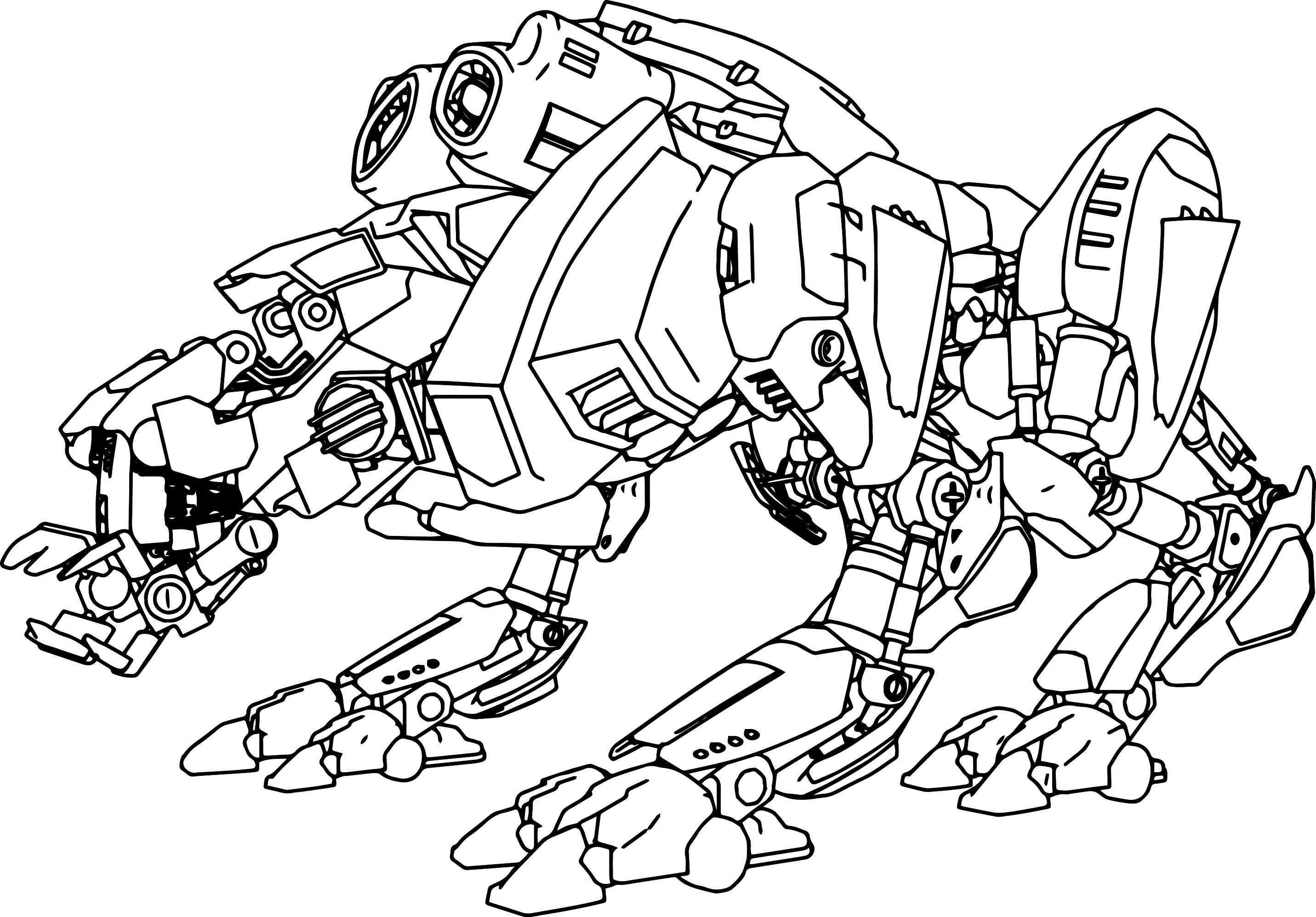 Real Steel Coloring Pages At Getdrawings Free Download
