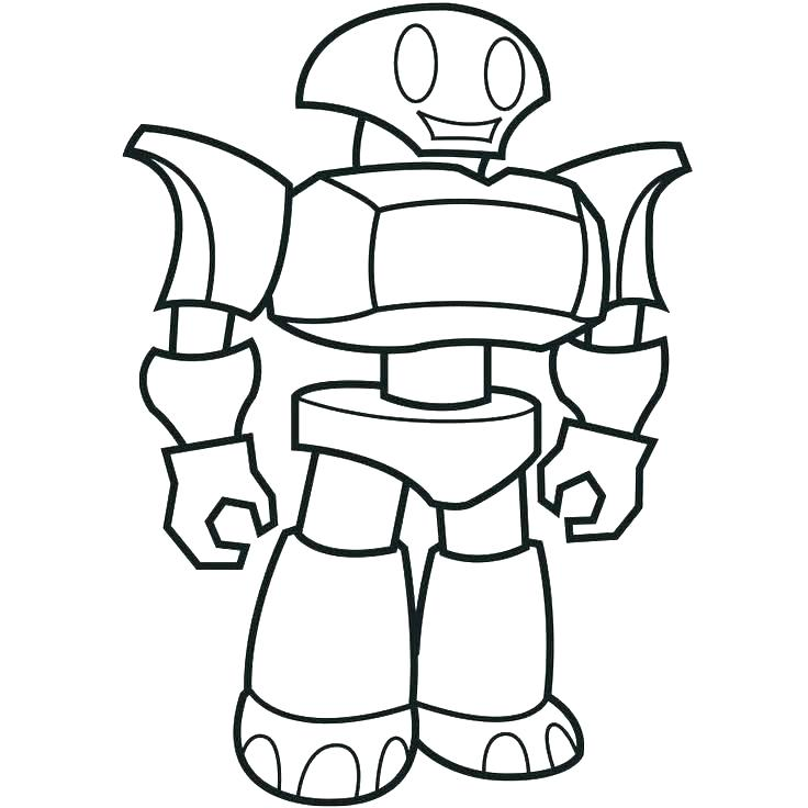 736x736 Coloring Coloring Pages Of Robots Robot For Kids Transformer Real