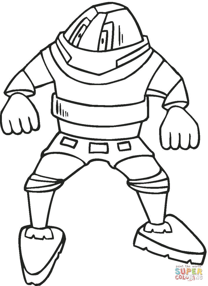 Real Steel Robot Coloring Pages