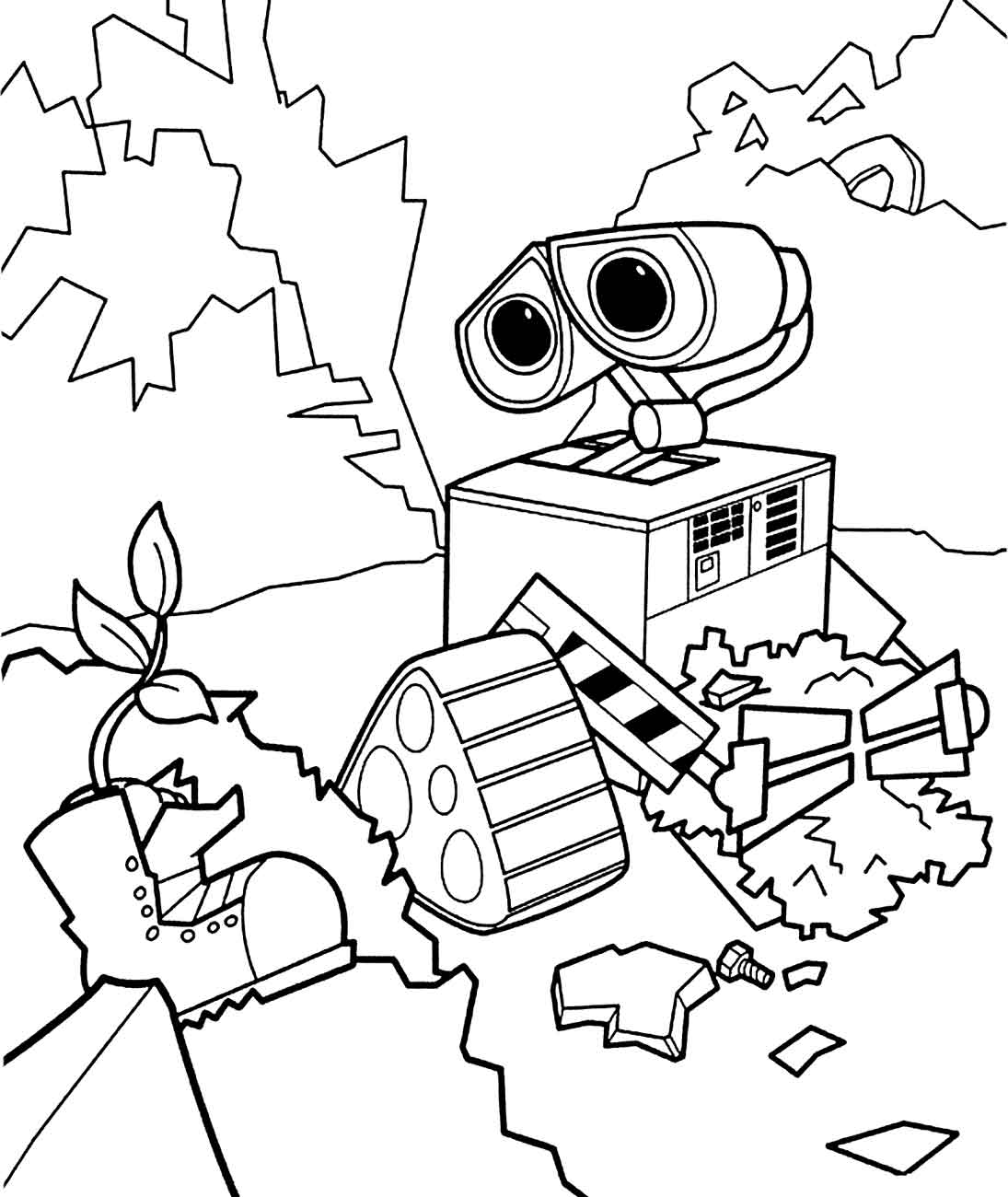 Real Steel Robot Coloring Pages At Getdrawings Com Free For