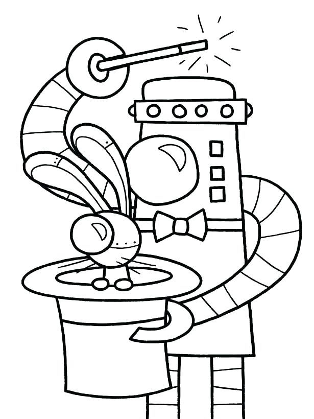 615x820 Marvelous Coloring Pages Robot Science Coloring Book And Science