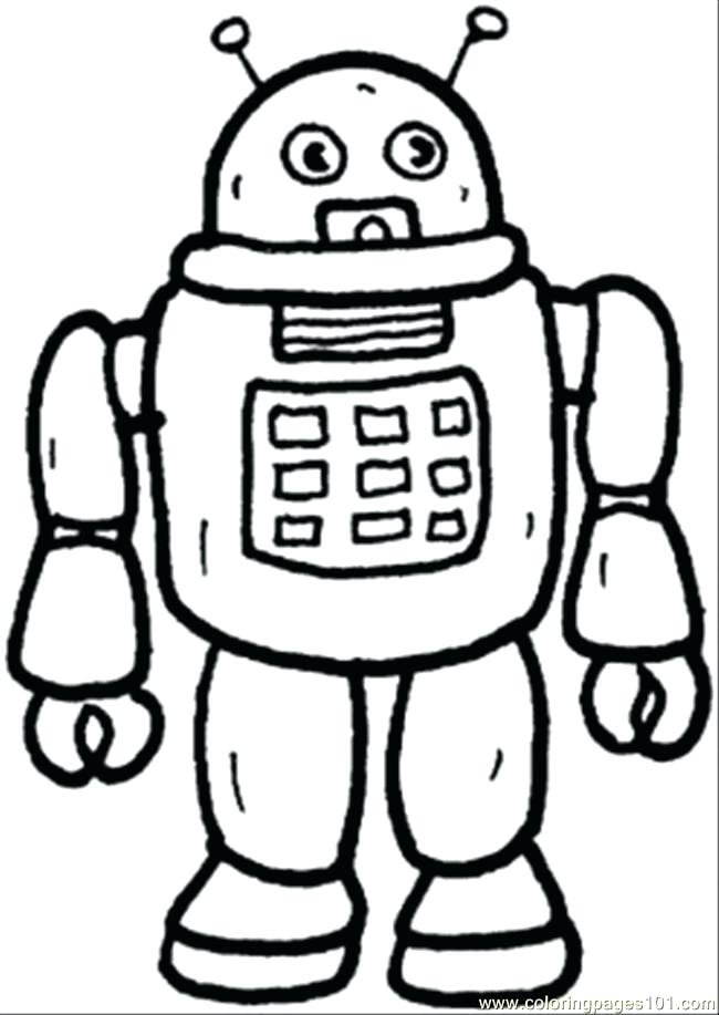 650x917 Robot Coloring Sheets Plus Robot Coloring Sheets Coloring Pages