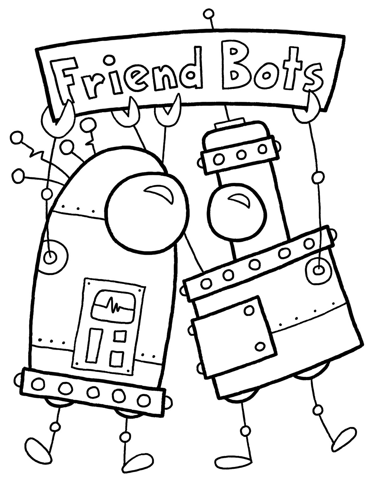 1200x1600 Trend Robot Coloring Pages To Print For Kids Pictures Color