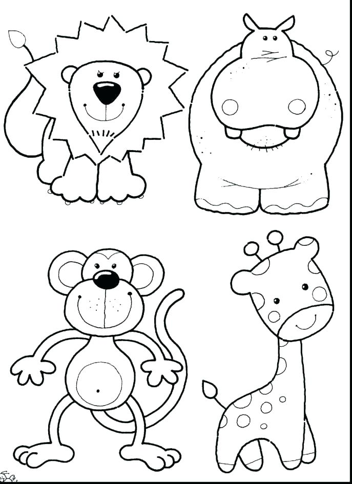 687x945 Real Animal Coloring Pages Fox Coloring Page Realistic Forest