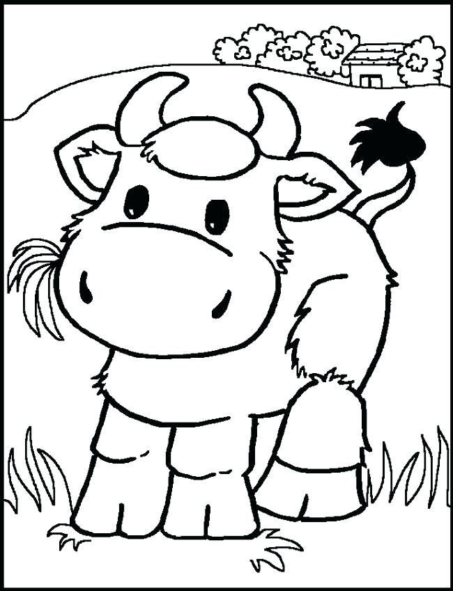 650x849 Baby Farm Animals Coloring Pages Baby Animal Coloring Pages
