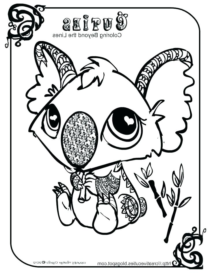 734x949 Surprising Koala Coloring Pages Realistic Koala Coloring Pages