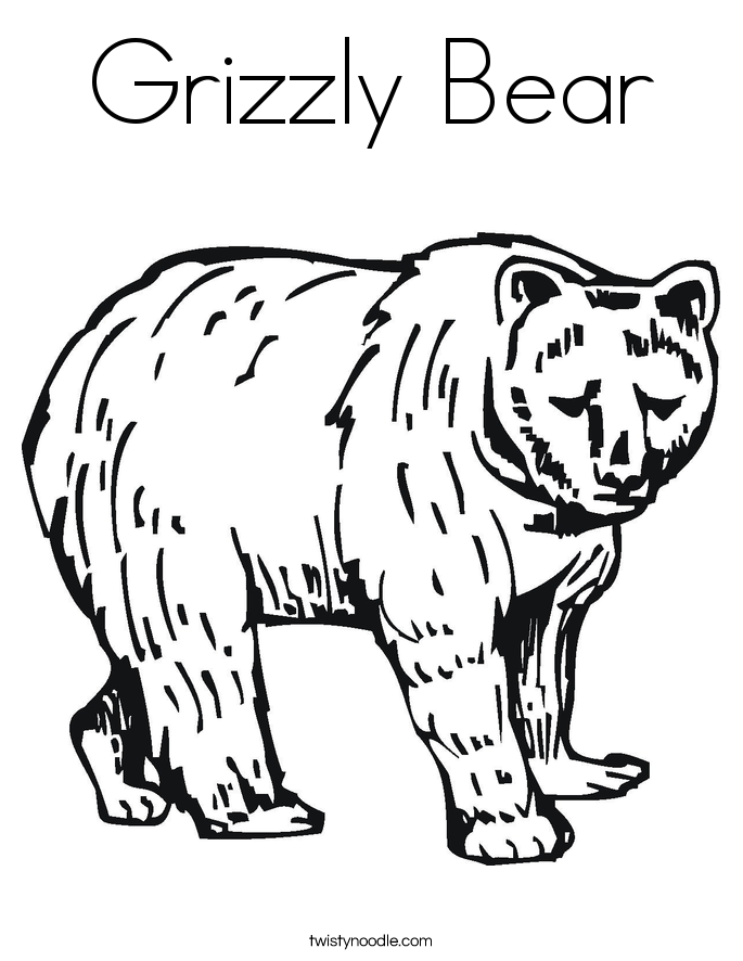 685x886 Bear Coloring Pages Images And Printable Templates