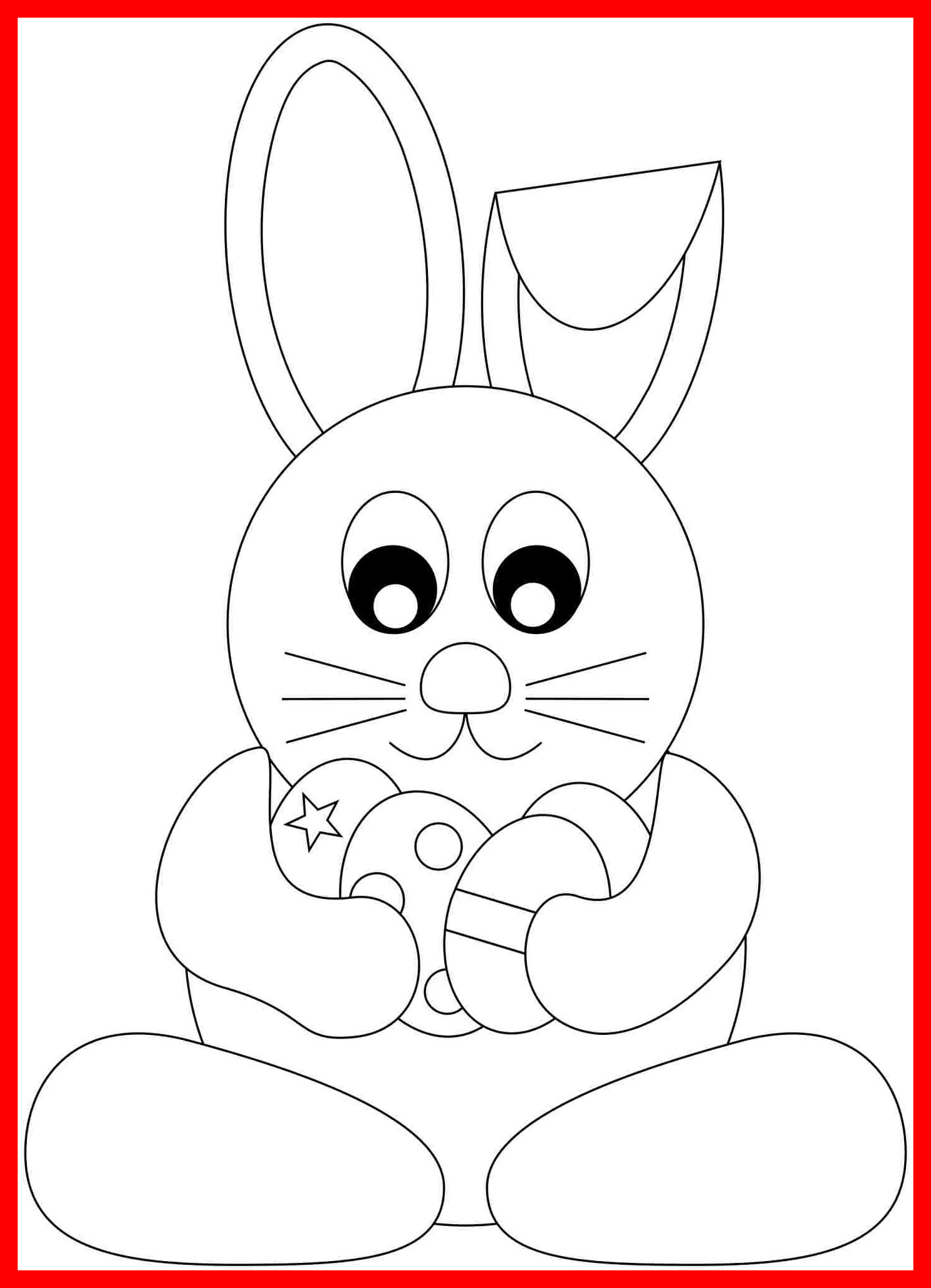 1486x2056 Astonishing Last Minute Printable Bunny Realistic Rabbit Coloring