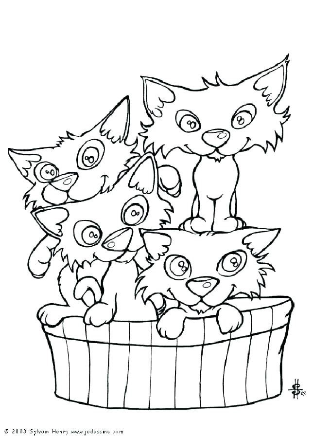 644x900 Coloring Page Of A Cat Cats Coloring Sheets Cat Coloring Pages
