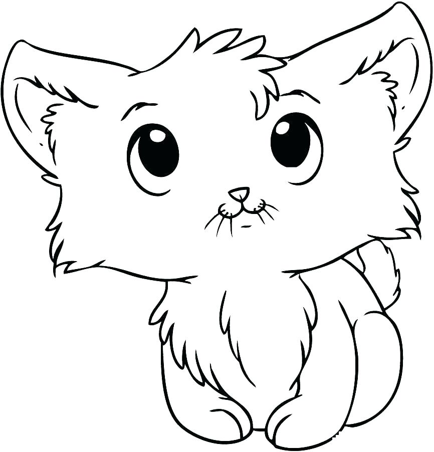 Realistic Cat Coloring Pages Printable at GetDrawings ...