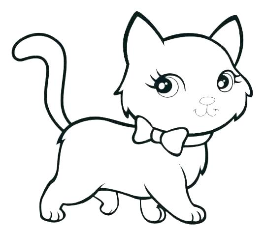 540x468 Cat Coloring Page Cat Coloring Pages Printable Cat Coloring Pages