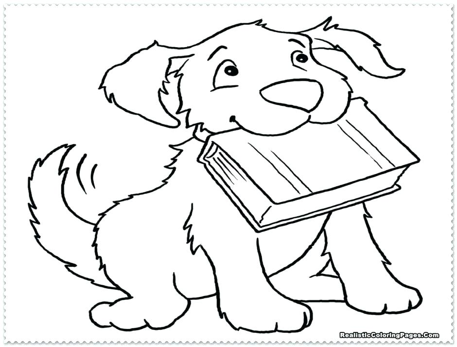 940x714 Realistic Dog Coloring Pages Lovely Realistic Dog Coloring Pages