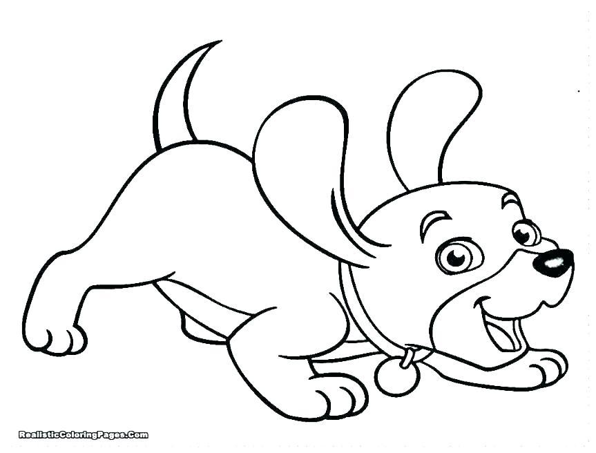 863x656 Free Dog Coloring Sheets