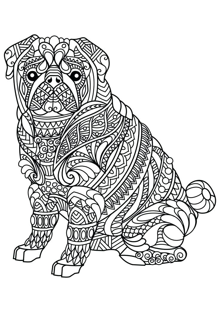 736x1040 Printable Coloring Pages Of Dogs