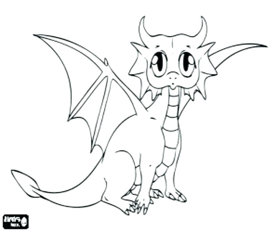 970x808 Dragon Coloring Pages Realistic Baby Dragon Coloring Pages Dragon