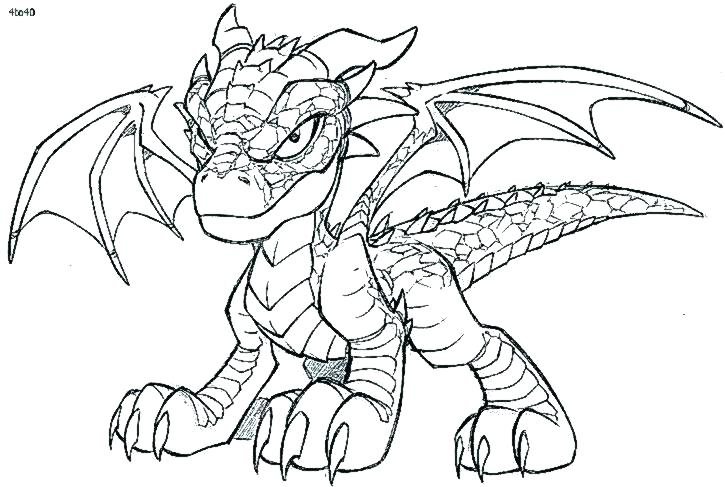 725x487 Dragon Coloring Pages Realistic Dragon Coloring Pages Plus