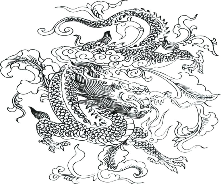 770x641 Epic Dragon Coloring Pages Print Coloring Pages Free Printable