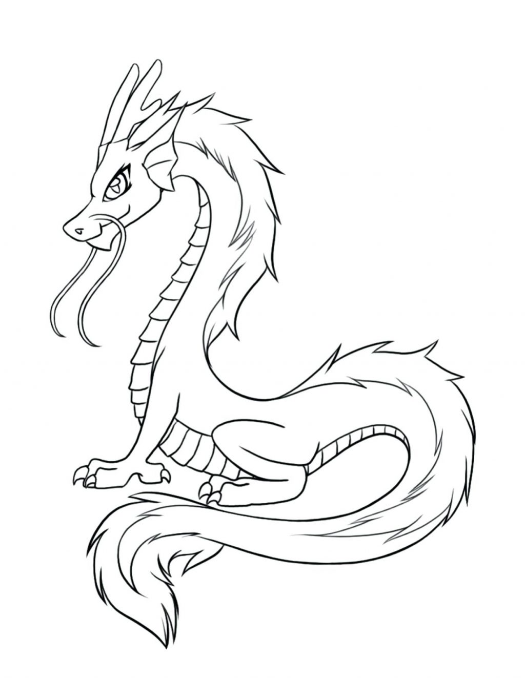 1024x1325 Coloring Pages Coloring Pages Of Dragons Realistic Dragon