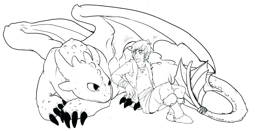 863x442 Free Coloring Pages Dragons