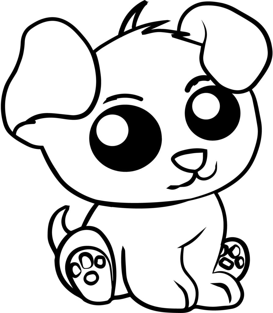894x1024 Realistic Cute Animal Coloring Pages Realistic Cute Animals