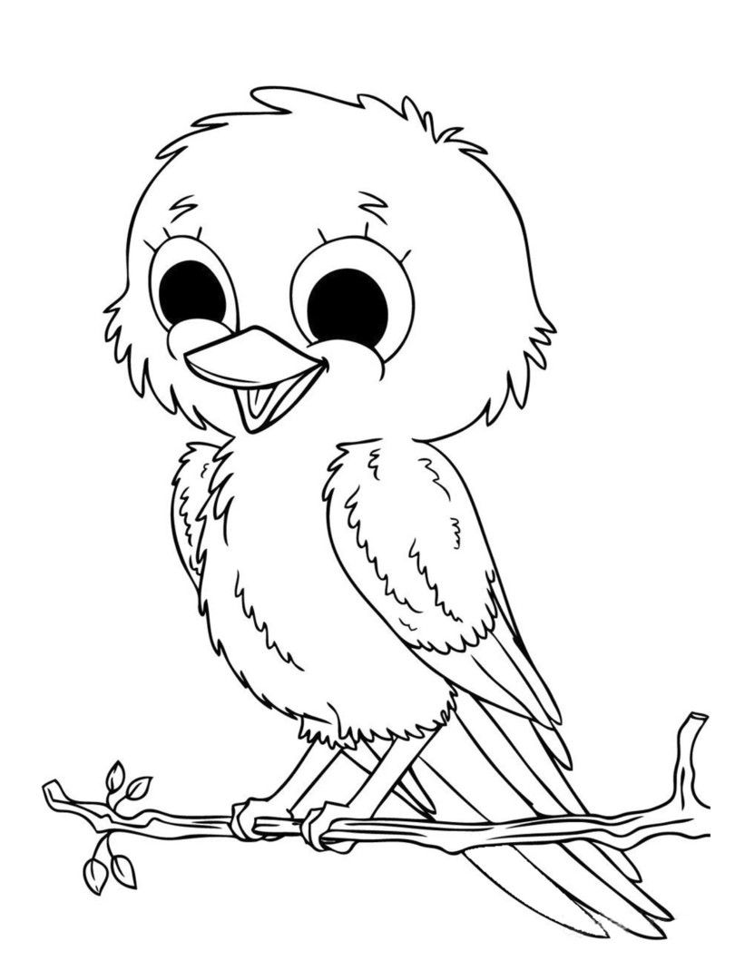 810x1080 Cute Animal Coloring Pages