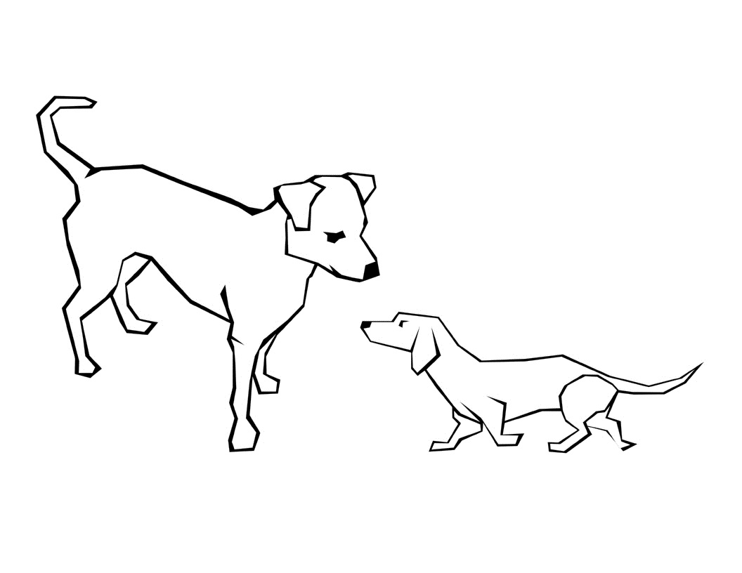 1056x816 Free Printable Dog Coloring Pages For Kids