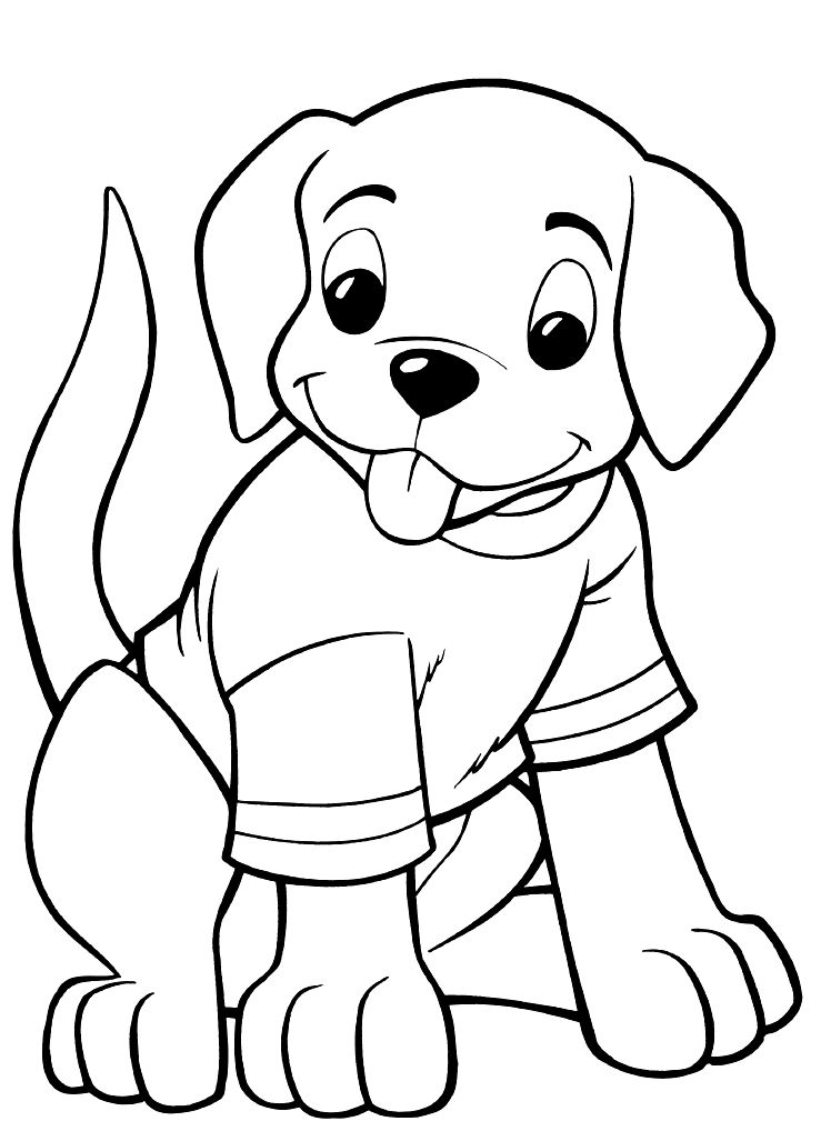 748x1009 Pretty Design Ideas Dog Coloring Pages Printable Adult Realistic