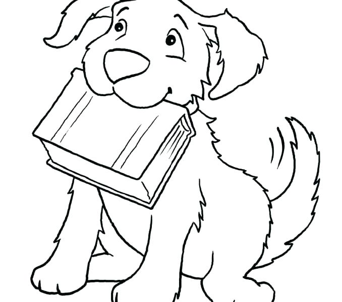 678x600 Puppy Printable Coloring Pages Husky Realistic Dog Pencil