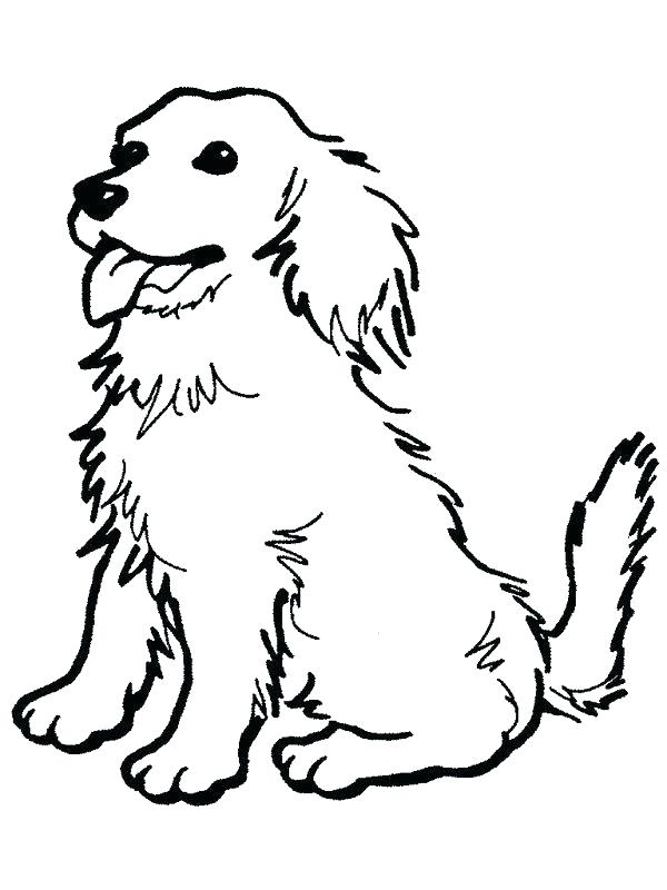 600x800 Beagle Coloring Pages Coloring Pages Of Dog Dog Coloring Page Free