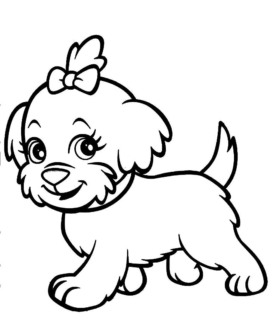 900x1050 Realistic Dog Coloring Pages Download Free Coloring Pages Download