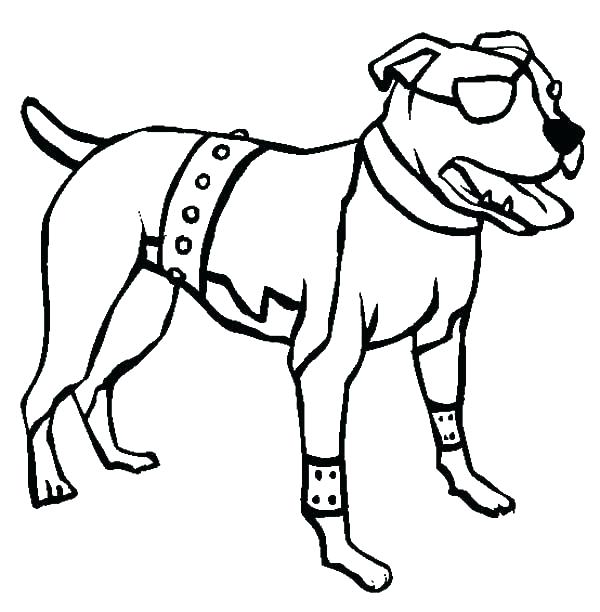 600x612 Boxer Coloring Pages Boxer Dog Coloring Pages Boxer Dog Coloring