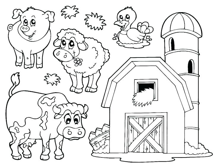 The Best Free Farm Coloring Page Images. Download From 1671 Free Coloring  Pages Of Farm At GetDrawings
