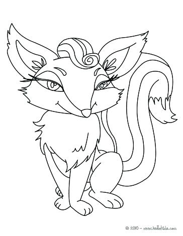 364x470 Realistic Coloring Pages Of Animals Forest Animals Coloring Pages