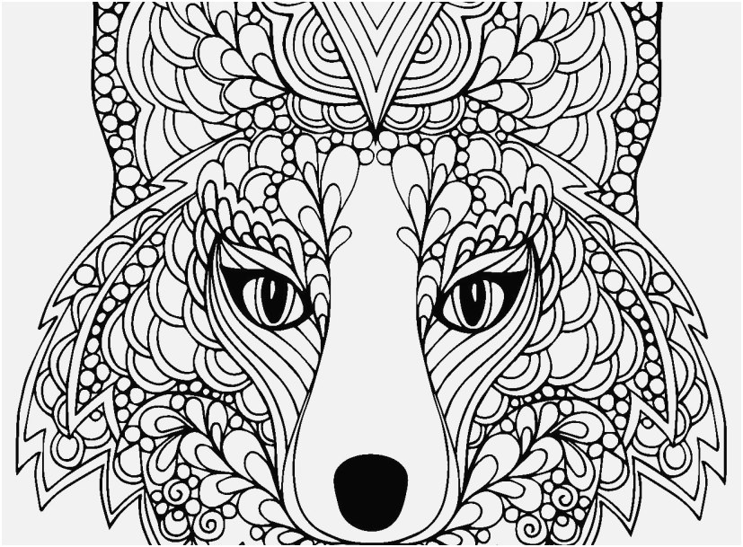 827x609 Realistic Fox Coloring Pages Pictures New Animal Coloring Pages