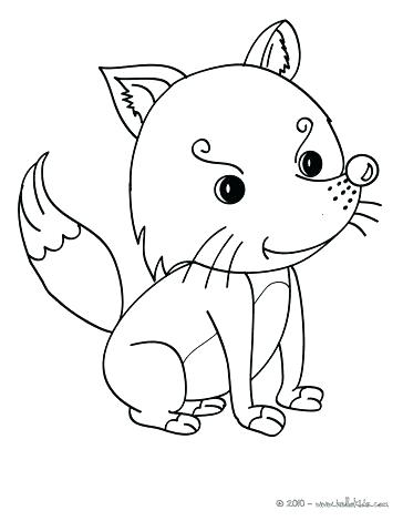 364x470 Wild Animal Coloring Pages Images Forest Animals Coloring Pages