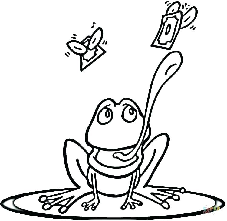 750x729 Coloring Page Realistic Frog Coloring Page Baby Frog Coloring Page