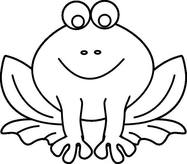 600x526 Realistic Frog Coloring Pages Pict