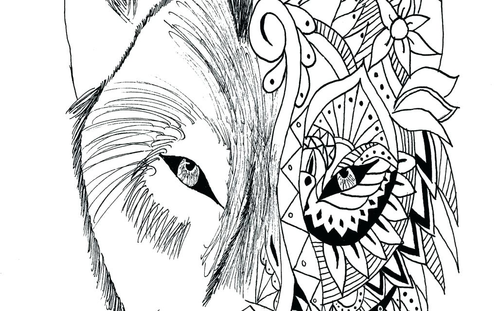1024x640 Werewolf Coloring Pages Notorious Werewolf Coloring Page Girl