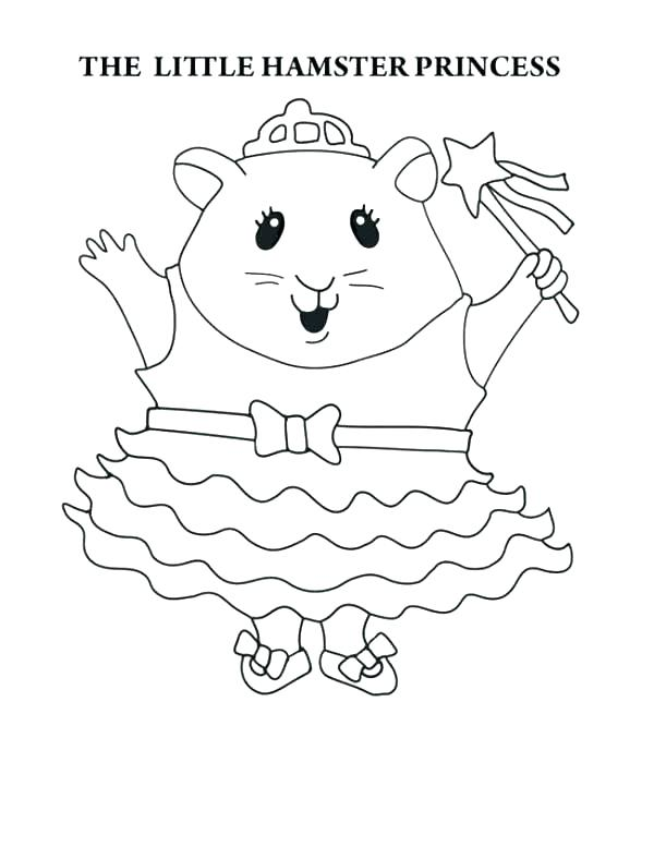 600x777 Guinea Pig Coloring Page Nea Pig Coloring Pages The Little Hamster