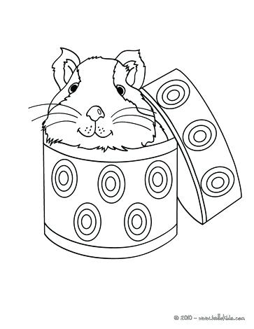 363x470 Guinea Pig Coloring Page Outstanding Guinea Pig Coloring Pages