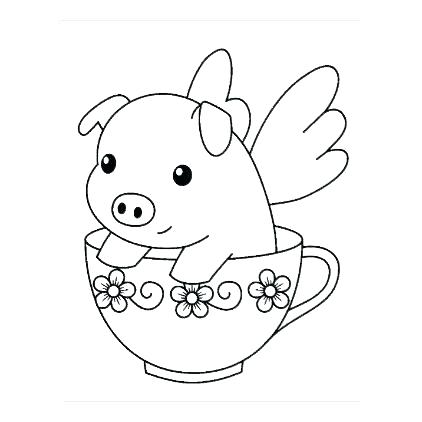 422x422 Realistic Guinea Pig Coloring Pages Holding Sheets Teacup Dog Free