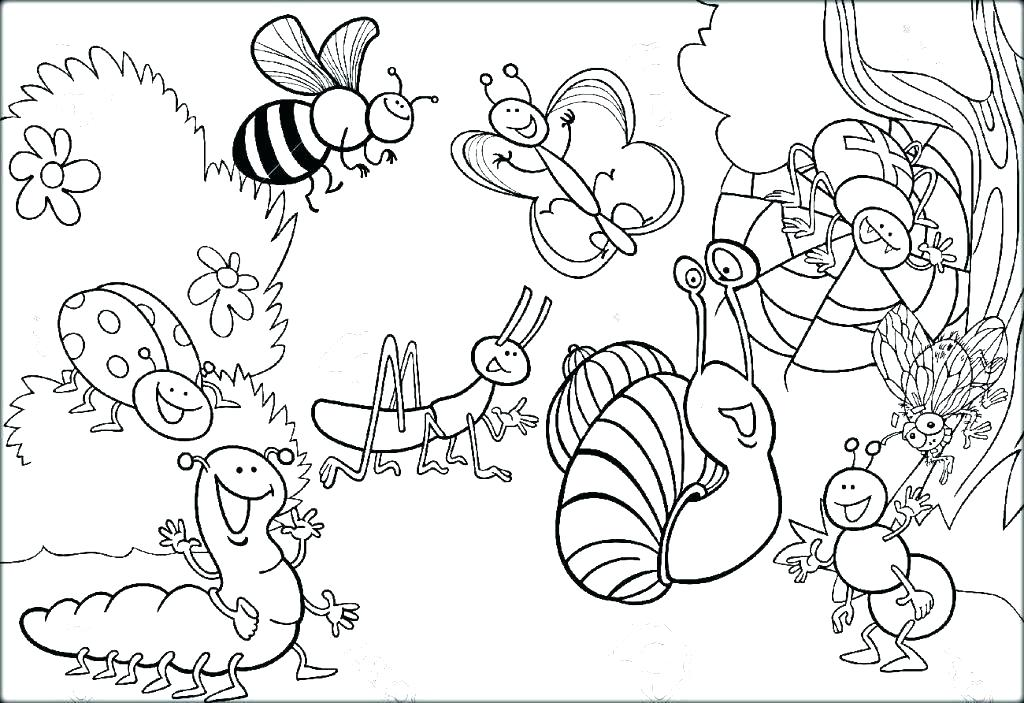Realistic Insect Coloring Pages at GetDrawings | Free download