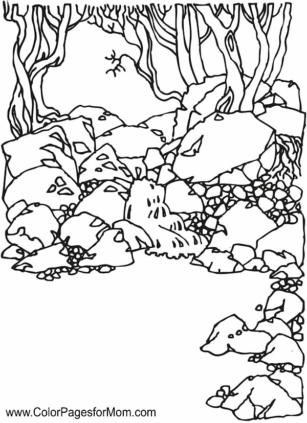 600x828 Realistic Landscape Coloring Pages Coloring Pages, Landscape